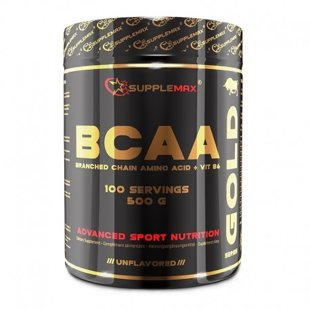 BCAA Gold + Vit. B6 unflavored 500 g.