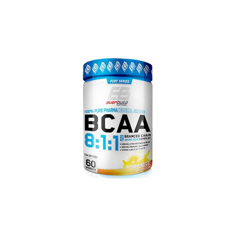 BCAA 8:1:1 100% Pure Rharma Grade