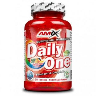 Daily One vitamins and minerals 60 tab.